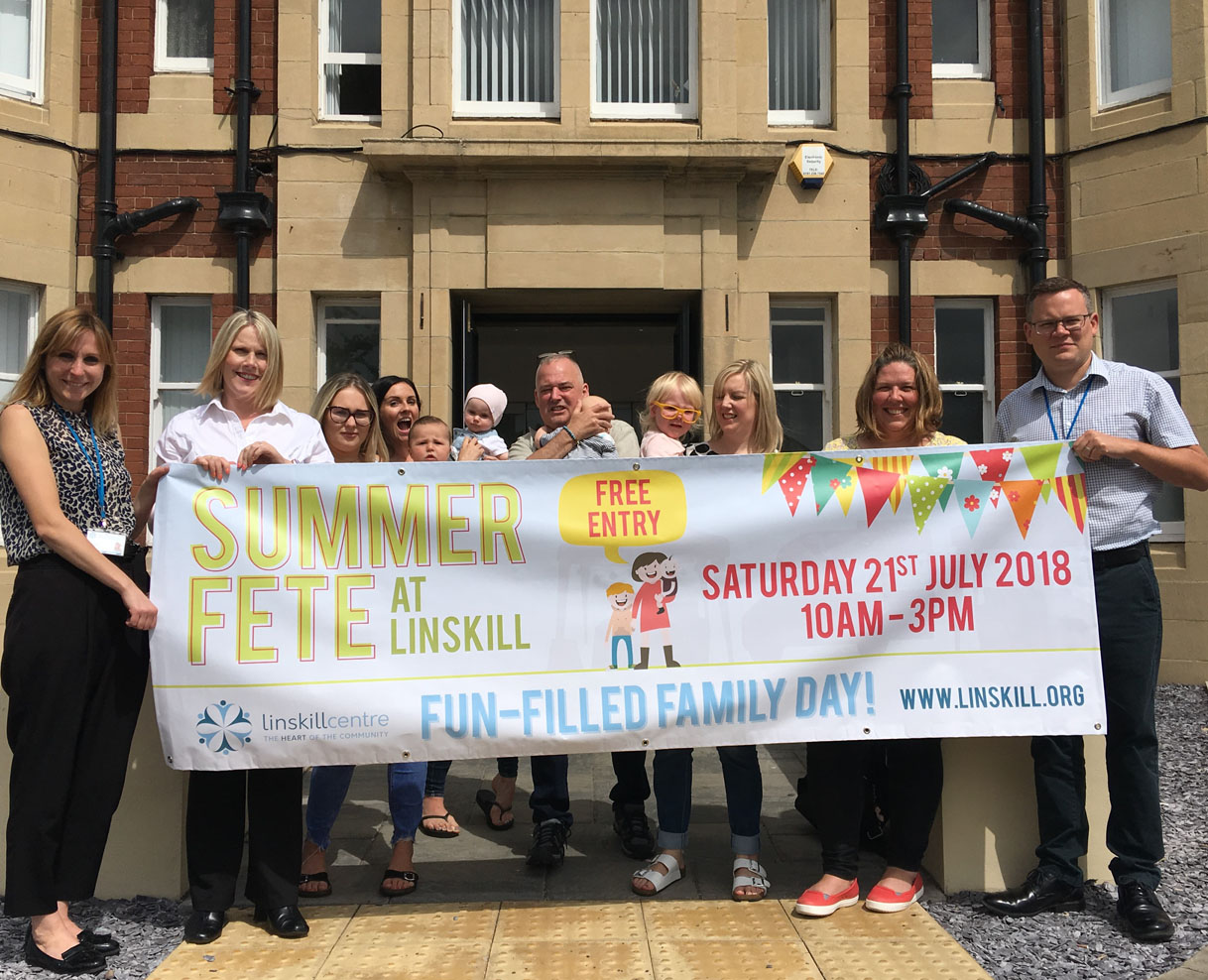 School's out, summer's here and time for the Linskill Summer Fete