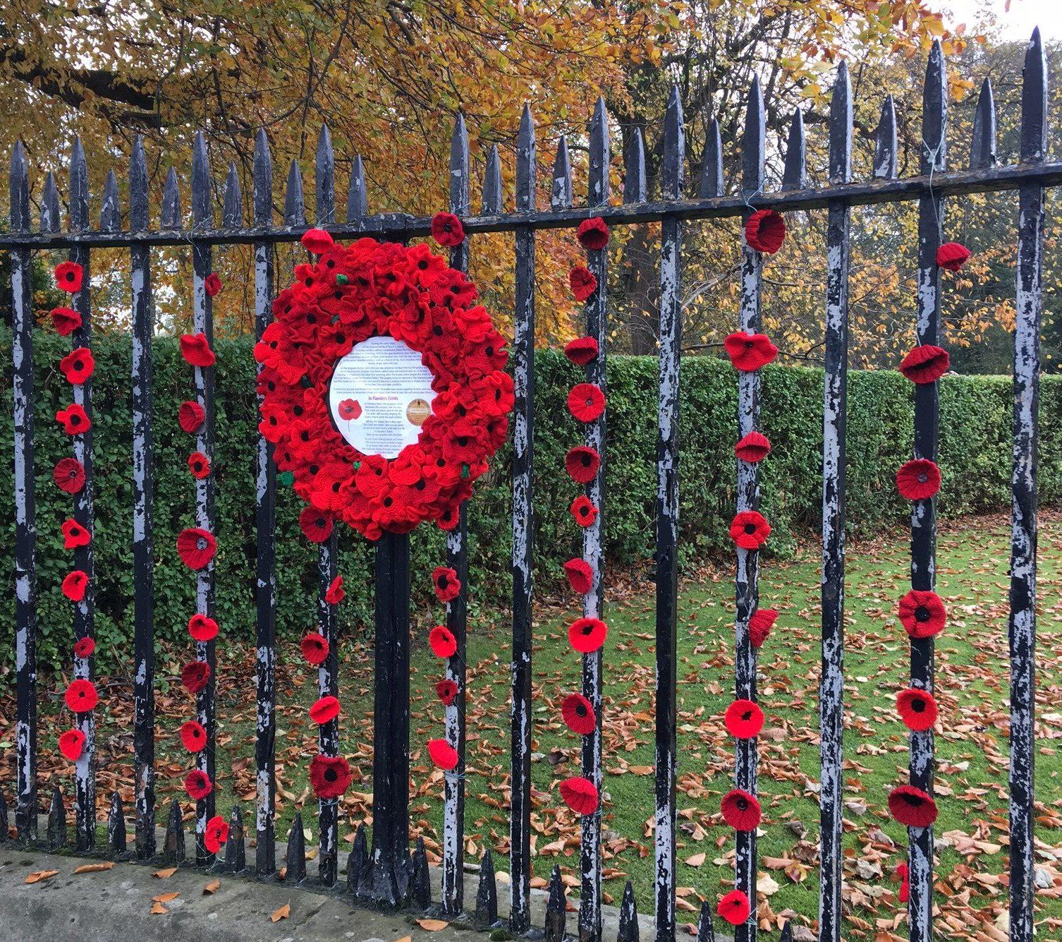 Poppies at Preston Cemetery