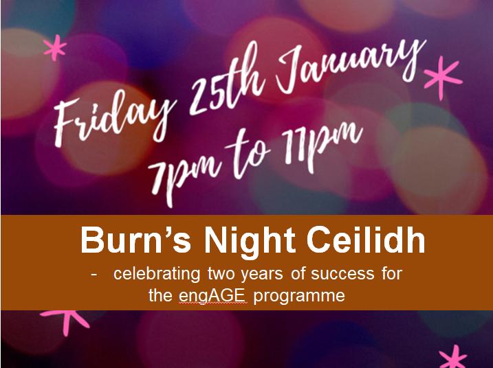 Burn's Night Ceilidh at Linskill