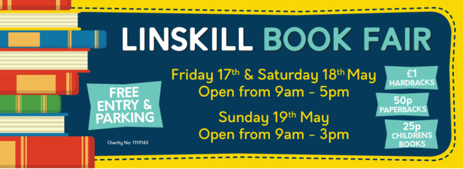 Linskill Book Fair – thousands of books up for grabs!