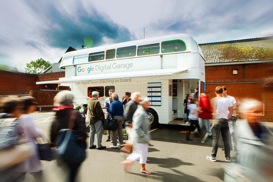 Google Digital Garage Bus is coming to Linskill