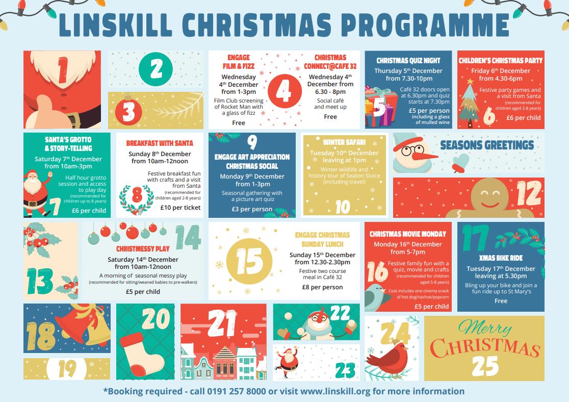 Christmas 2019 at Linskill