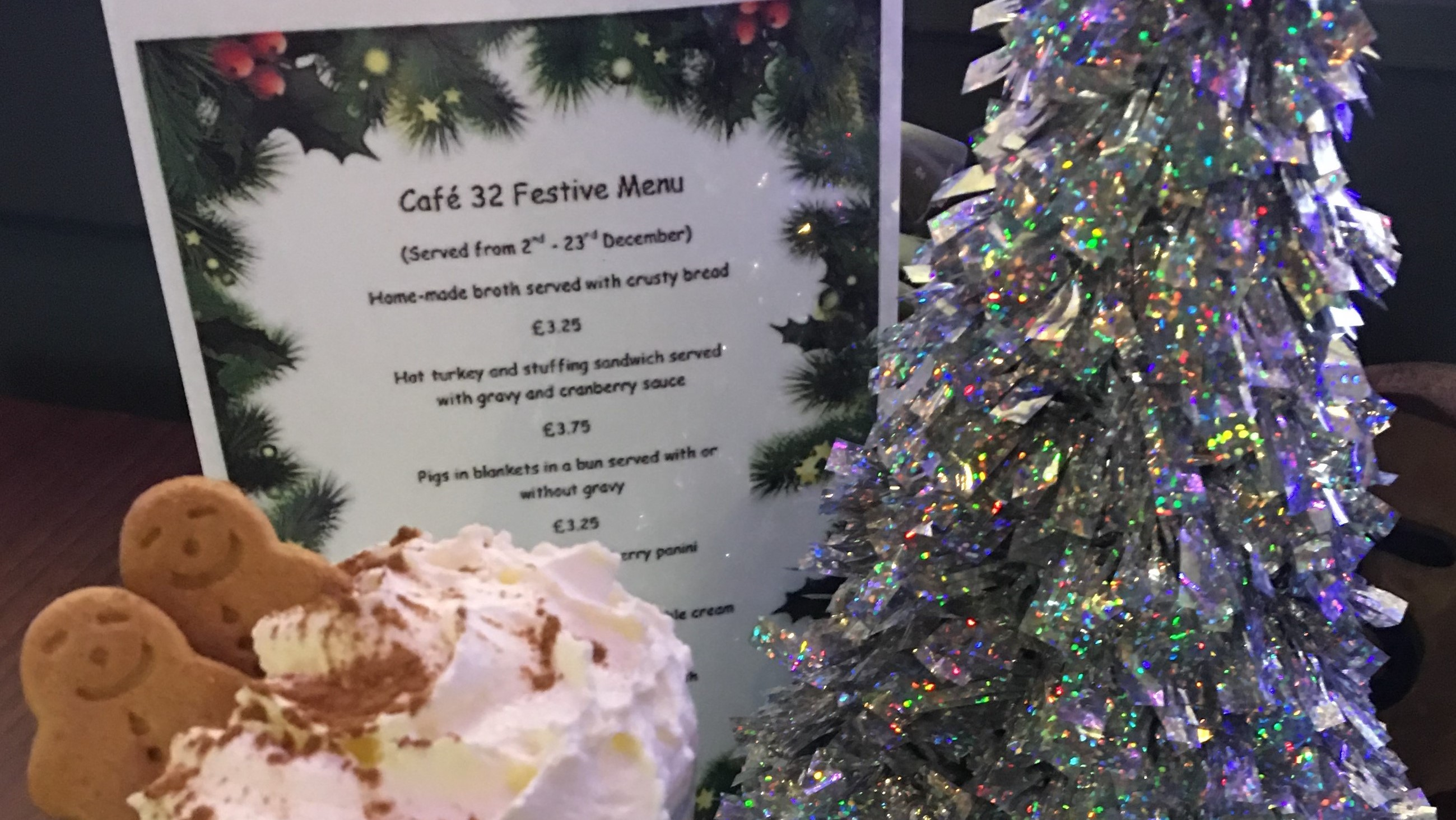 Cafe 32 launches its Festive Menu