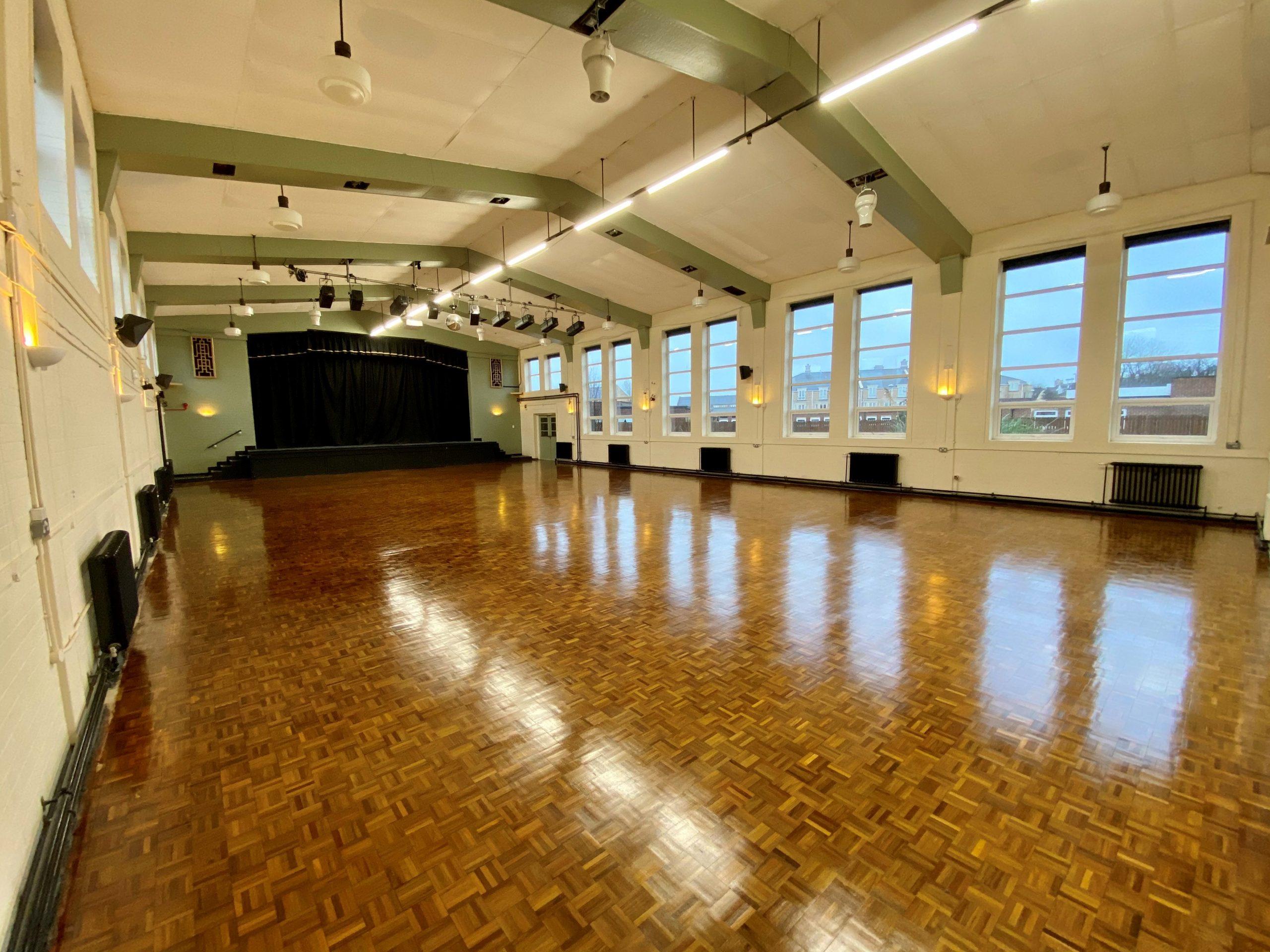 Trevelyan Hall is looking splendid