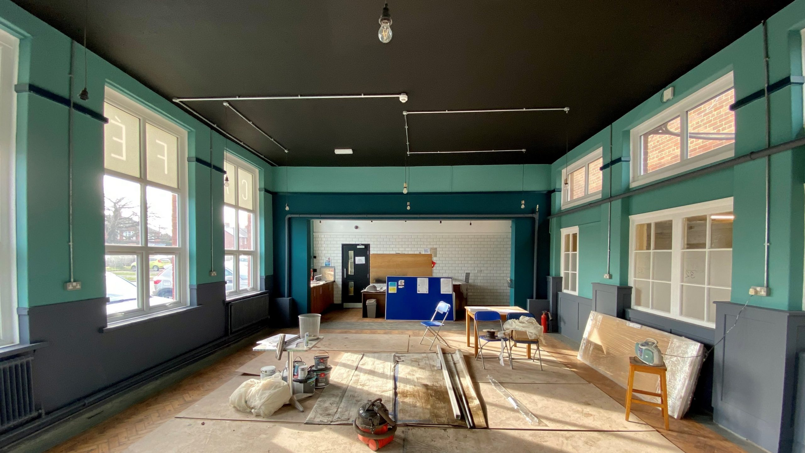 Cafe 32 is having a makeover