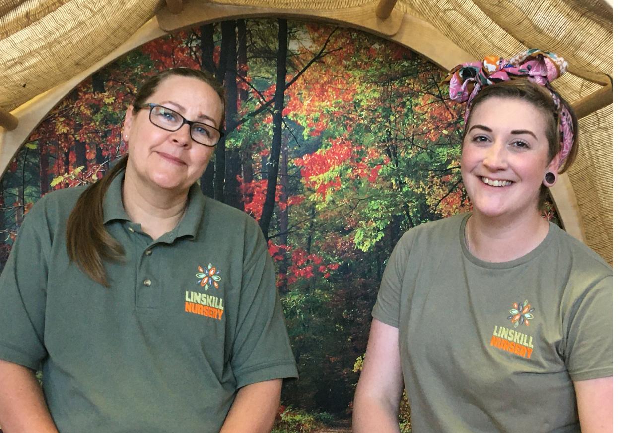 New eco-friendly uniforms for Linskill Nursery